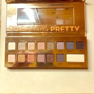 It cosmetics naturally pretty pallet, swatched